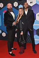 Edson Da Graca, Gaby Blaaser, Joffrey Breeuwer (Dutch Ridiculousness)<br /> 2016 MTV EMAs in Ahoy Arena, Rotterdam, The Netherlands on November 06, 2016.<br /> CAP/PL<br /> &copy;Phil Loftus/Capital Pictures /MediaPunch ***NORTH AND SOUTH AMERICAS ONLY***