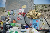 Don Simpson Memorial up Mont Ventoux<br /> <br /> Tour de France 2013<br /> stage 15: Givors to Mont Ventoux, 242,5km