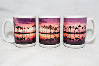 15 oz. Mug  - Waikoloa Sunset Palms - $25 + $6 shipping.<br />