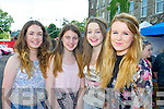 Pictured queuing for the Union J concert at Denny Street on Friday were, from left: Sadbh Ní Chathasaigh, Caoimhe Hassett, Aimee Kerrisk and Laura Corlett (all Killarney)