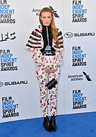 SANTA MONICA, CA. February 23, 2019: Riley Keough at the 2019 Film Independent Spirit Awards.<br /> Picture: Paul Smith/Featureflash