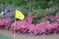 The flag pin on the 13 green during the 1st round at the The Masters , Augusta National, Augusta, Georgia, USA. 11/04/2019.<br /> Picture Fran Caffrey / Golffile.ie<br /> <br /> All photo usage must carry mandatory copyright credit (&copy; Golffile | Fran Caffrey)