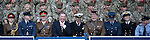 Ally McCoist keeoing the top brass entertained