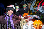 John Cronin, Eileen and Diarmuid Shine Knocknagoshel at the Knocknagoshel Halloween Festival on Sunday night