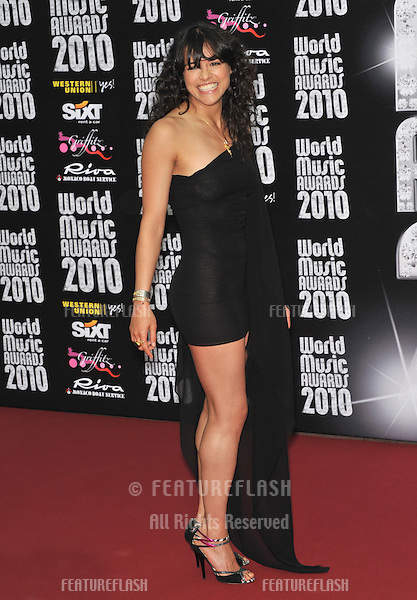 Michelle Rodriguez at the 2010 World Music Awards at the Monte Carlo Sporting Club, Monaco..May 18, 2010  Monaco, France.Picture: Paul Smith / Featureflash