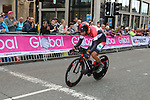 Ahmad Badreddin Wais (SYR) in action during the Men Elite Individual Time Trial of the UCI World Championships 2019 running 54km from Northallerton to Harrogate, England. 25th September 2019.<br /> Picture: Seamus Yore | Cyclefile<br /> <br /> All photos usage must carry mandatory copyright credit (© Cyclefile | Seamus Yore)
