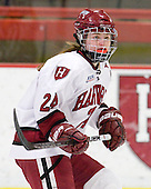 Leanna Coskren (Harvard - 24) - The Harvard University Crimson defeated the St. Lawrence University Saints 8-3 (EN) to win their ECAC Quarterfinals on Saturday, February 26, 2011, at Bright Hockey Center in Cambridge, Massachusetts.