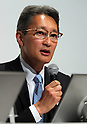 June 29, 2016, Tokyo, Japan - Japan's electronics giant Sony president Kazuo Hirai announces the company's business strategy at the Sony headquarters in Tokyo on Wednesday, June 29, 2016. Hirai said Sony's target of consolidate ROE would be more than 10 percent and operating profit would be more than 500 billion yen in the 2017 fiscal year.   (Photo by Yoshio Tsunoda/AFLO) LWX -ytd-