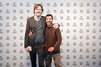 IFFR 2012, International Film Festival Rotterdam, Premiere, Davide Manulli, Rutger Wolfson, TIGERWALL, Photo by Nichon Glerum Copyright and ownership by photographer. FOR IFFR USE ONLY. Not to be (re-)distributed in any form. Copyright and ownership by photographer. FOR IFFR USE ONLY. Not to be (re-)distributed in any form.