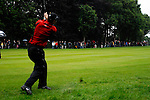 Justin Rose takes his 2nd shot out of the rough on the 17th hole during the final round of the BMW PGA Championship at Wentworth Club, Surrey, England 27th May 2007 (Photo by Eoin Clarke/NEWSFILE)