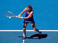 PETRA KVITOVA (CZE) against ANA IVANOVIC (SRB) in the fourth round of the Women's Singles. Petra Kvitova beat Ana Ivanovici  6-2 7-6..23/01/2012, 23rd January 2012, 23.01.2012 - Day 8..The Australian Open, Melbourne Park, Melbourne,Victoria, Australia.@AMN IMAGES, Frey, Advantage Media Network, 30, Cleveland Street, London, W1T 4JD .Tel - +44 208 947 0100..email - mfrey@advantagemedianet.com..www.amnimages.photoshelter.com.