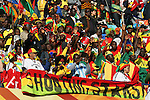 13 JUN 2010:  Ghana supporters group.  The Serbia National Team played the Ghana National Team at Loftus Versfeld Stadium in Tshwane/Pretoria, South Africa in a 2010 FIFA World Cup Group D match.