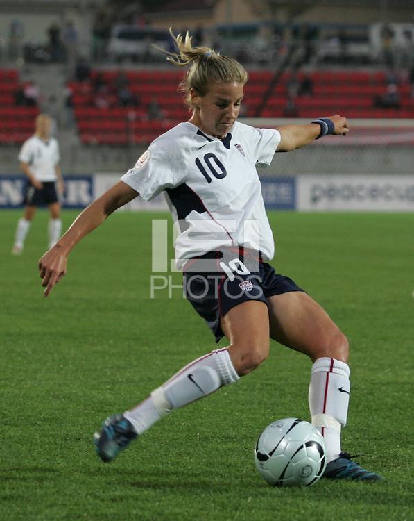 Oct 29, 2006: Kimhae, South Korea:  Aly Wagner