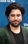 "Sinan Refik Zafar attending the Broadway Opening Night Performance of  ""What The Constitution Means To Me"" at the Hayes Theatre on March 31, 2019 in New York City."