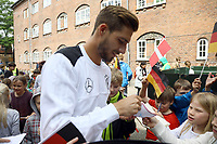 Kevin Trapp (Deutschland Germany) - 07.06.2017: Deutsche Nationalmannschaft besucht St. Petri Schule in Kopenhagen