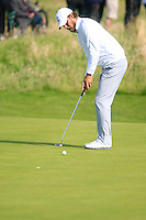 Dan Brown (ENG) during the Home Internationals day 2 foursomes matches supported by Fairstone Financial Management Ltd. at Royal Portrush Golf Club, Portrush, Co.Antrim, Ireland.  13/08/2015.<br /> Picture: Golffile   Fran Caffrey<br /> <br /> <br /> All photo usage must carry mandatory copyright credit (© Golffile   Fran Caffrey)