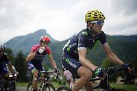 (later stage winner) Ion Izagirre (ESP/Movistar) in the breakaway<br /> <br /> Stage 20: Megève › Morzine (146.5km)<br /> 103rd Tour de France 2016
