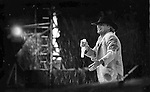 Rod Stewart performs live on stage in Fitzgerald Stadium, KIllarney in 1991..Picture by Don MacMonagle