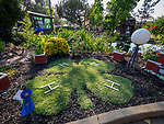 Award winning 4H garden, Friday at the 80th Amador County Fair, Plymouth, Calif..<br /> .<br /> .<br /> .<br /> #AmadorCountyFair, #1SmallCountyFair, #PlymouthCalifornia, #TourAmador, #VisitAmador