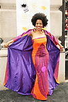 Rhonda Ross - Another World - wearing outfit designed by Terrence Eldridge) at event celebrating 30 years of style and twenty-five years of giving back through Hearts of Gold at a black carpet salon style spring/summer fashion show and cocktail reception on May 9, 2019 at Blanc et Noir, New York City, New York.(Photo by Sue Coflin/Max Photos)