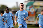 BROWNS SUMMIT, NC - SEPTEMBER 16: North Carolina's Alex Comsia (CAN). The University of North Carolina Tar Heels hosted the Duke University Blue Devils on September 16, 2017 at Macpherson Stadium in Browns Summit, NC in a Division I college soccer game. UNC won the game 2-1.