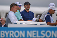 Tony Romo (a) (USA) checks out the winds on the tee on 6 during round 1 of the AT&T Byron Nelson, Trinity Forest Golf Club, Dallas, Texas, USA. 5/9/2019.<br /> Picture: Golffile | Ken Murray<br /> <br /> <br /> All photo usage must carry mandatory copyright credit (© Golffile | Ken Murray)