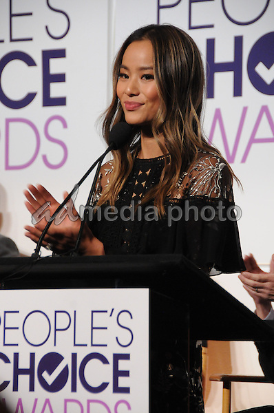 15 November 2016 - Beverly Hills, California - Jamie Chung. 2017 People's Choice Awards Announcements held at The Paley Center for Media. Photo Credit: Birdie Thompson/AdMedia