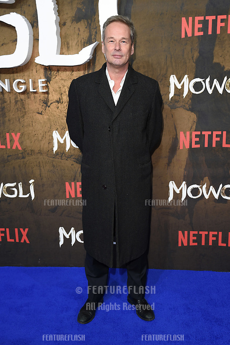 LONDON, UK. December 04, 2018: Jonathan Cavendish at the&quot;Mowgli: Legend of the Jungle&quot; premiere at the Curzon Mayfair, London.<br /> Picture: Steve Vas/Featureflash