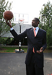 Dikembe Mutombo, an 18 year veteran of the NBA, received the 2010 Steve Patterson Award For Excellence in Sports Philanthropy at the Robert Wood Johnson Foundation Campus in Princeton, New Jersey.  Mutombo was honored by the Foundation for his philanthropy in his native Republic Of Congo..