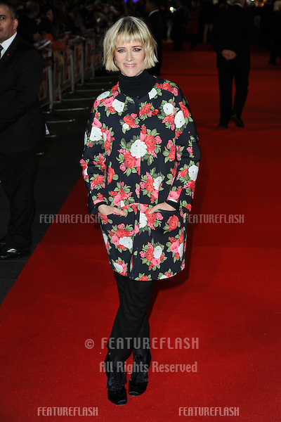 Edith Bowman arriving for the World Premiere of Gambit, at the Empire Leicester Square, London. 07/11/2012 Picture by: Steve Vas / Featureflash