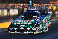 Jul. 25, 2014; Sonoma, CA, USA; NHRA funny car driver John Force during qualifying for the Sonoma Nationals at Sonoma Raceway. Mandatory Credit: Mark J. Rebilas-