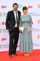 Louis Theroux and Nancy Strang<br /> at Virgin Media British Academy Television Awards 2019 annual awards ceremony to celebrate the best of British TV, at Royal Festival Hall, London, England on May 12, 2019.<br /> CAP/JOR<br /> ©JOR/Capital Pictures