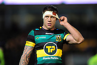 Teimana Harrison of Northampton Saints. Aviva Premiership match, between Northampton Saints and Sale Sharks on December 23, 2016 at Franklin's Gardens in Northampton, England. Photo by: Patrick Khachfe / JMP
