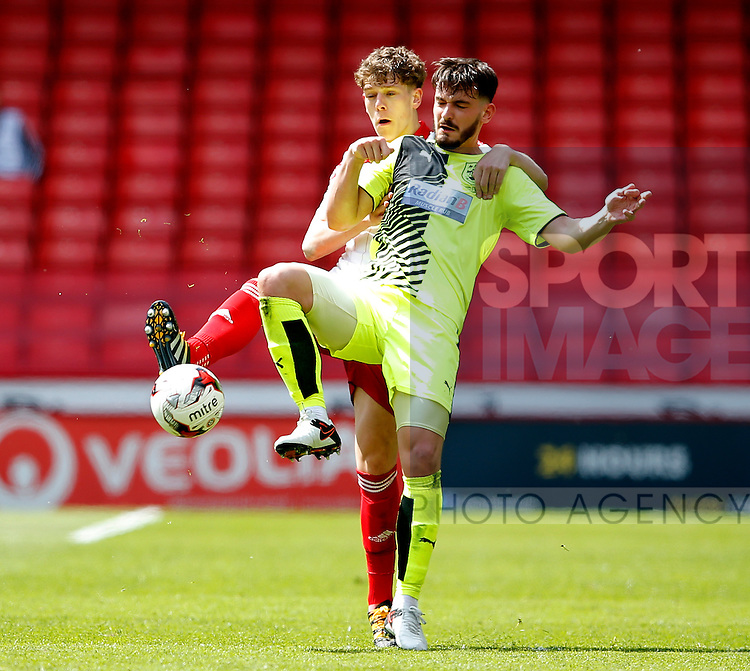 Callum Semple of Sheffield Utd during the PDL U21 Final at Bramall Lane Sheffield. Photo credit should read: Simon Bellis/Sportimage