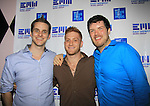 "Doug Larsen and Dan Godlin and Ben Lindell of EMW Music Group is proud to present ""Shuffle"", its debut album with 100 % of the proceeds being donated to VH1 Save The Music Foundation featuring 14 original songs by 14 original artists - Amber Skye, Matt Balanger, Dan Godlin, Sam Nulton, Gliffics, Johnny Burgos, Bobby Brickstone, Amanda Stone (recent finalist on The Voice), Dan Godlin, Lenny Harold, Roshon, Camo, Freddie Cosmo, Guy Lockard available on June 4, 2013 at www.emwshuffle.org/VIP and at this site for more information. The party was on May 31, 2013 at Bobby's, New York City, New York. (Photo by Sue Coflin/Max Photos)"