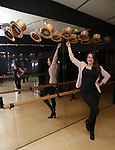 Leah Lane visits 'A Chorus Line' at Curtain Up: Celebrating the Last 40 Years of Theatre in New York and London Exhibition on June 14, 2017 at the New York Public Library for the Performing Arts at Lincoln Center.