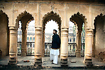 Ali Mohammad Khan at the Mehmudabad Qila, Uttar Pradesh.