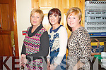 Fashion Show in Scartaglen Heritage Centre on Friday night, in aid of Scartaglen Ladies Football team.  Pictured here were L-R : Mary Fitzgerald, Joanne Tagney and Catherine Murphy all of Scartaglen.