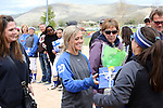 Makaylee Jaussi at the Sophomore Day celebration after the first game of the Western Nevada College softball doubleheader on Saturday, April 30, 2016 at Pete Livermore Sports Complex. Photo by Shannon Litz/Nevada Photo Source