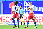 v.l. Gideon Jung, Martin Harnik (HSV)<br /> Hamburg, 28.06.2020, Fussball 2. Bundesliga, Hamburger SV - SV Sandhausen<br /> Foto: Tim Groothuis/Witters/Pool//via nordphoto<br />  DFL REGULATIONS PROHIBIT ANY USE OF PHOTOGRAPHS AS IMAGE SEQUENCES AND OR QUASI VIDEO<br /> EDITORIAL USE ONLY<br /> NATIONAL AND INTERNATIONAL NEWS AGENCIES OUT