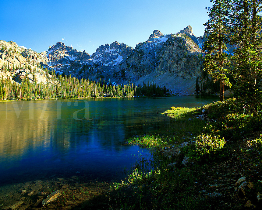 Alice Lake, Sawtooth Mountain Range, Idaho