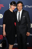 "NEW YORK CITY, NY, USA - MAY 12: Sunrise Coigney, Mark Ruffalo at the New York Screening Of HBO's ""The Normal Heart"" held at the Ziegfeld Theater on May 12, 2014 in New York City, New York, United States. (Photo by Celebrity Monitor)"