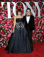 NEW YORK, NY - JUNE 10: Katharine McPhee and Zac Posen attends the 72nd Annual Tony Awards at Radio City Music Hall on June 10, 2018 in New York City.  <br /> CAP/MPI/JP<br /> &copy;JP/MPI/Capital Pictures