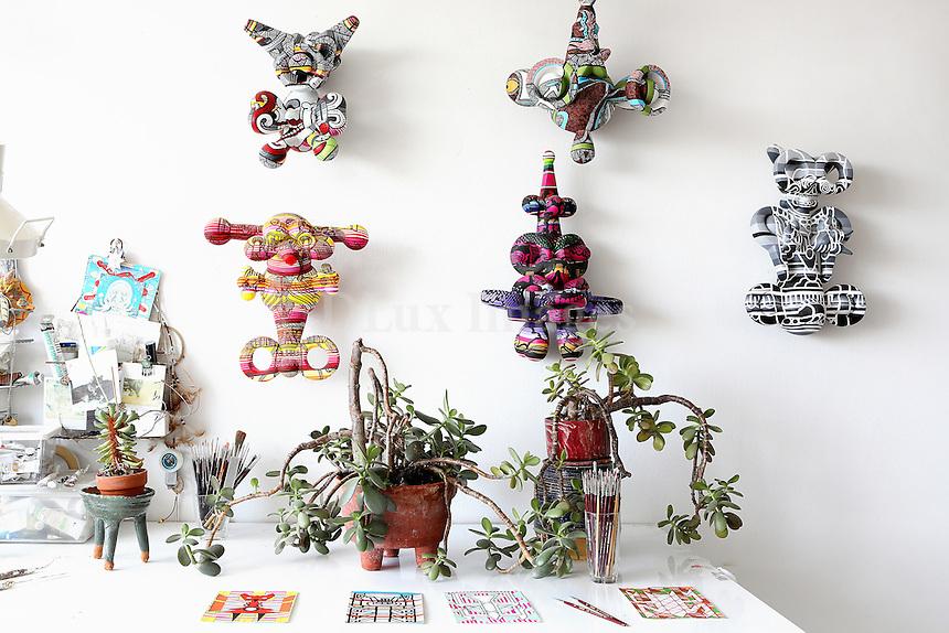 Asian wall ornaments