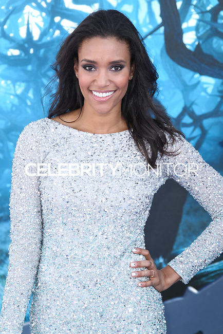 HOLLYWOOD, LOS ANGELES, CA, USA - MAY 28: Annie Ilonzeh at the World Premiere Of Disney's 'Maleficent' held at the El Capitan Theatre on May 28, 2014 in Hollywood, Los Angeles, California, United States. (Photo by Xavier Collin/Celebrity Monitor)