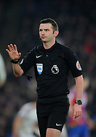 Todays match referee Michael Oliver <br /> <br /> Photographer Ashley Crowden/CameraSport<br /> <br /> The Premier League - Crystal Palace v Burnley - Saturday 13th January 2018 - Selhurst Park - London<br /> <br /> World Copyright &copy; 2018 CameraSport. All rights reserved. 43 Linden Ave. Countesthorpe. Leicester. England. LE8 5PG - Tel: +44 (0) 116 277 4147 - admin@camerasport.com - www.camerasport.com