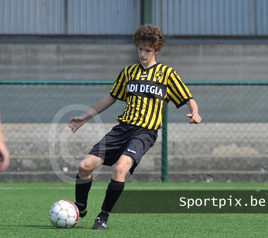 WD Lierse SK : Tinne Van Den Bergh.foto DAVID CATRY  / Vrouwenteam.be.