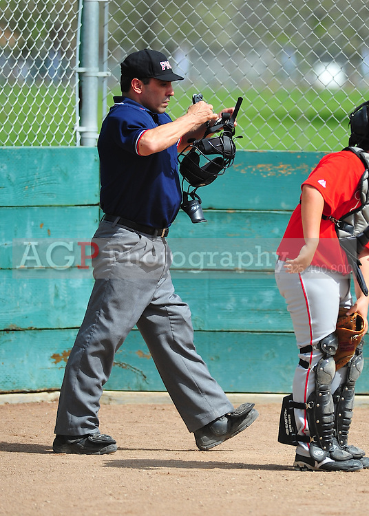 The Pleasanton National Little League Umpires  at the Pleasanton Sports Park Saturday March 20, 2010. (Photo by Alan Greth)