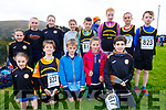 Members of the Farranfore/Maine Valley AC taking part in the Kerry County Athletics Cross Country Championships in Cahersiveen on Sunday, pictured here front l-r; Leah McCarthy, Jack Teahan, Tiarnan Liongsigh, Jessie Ní Liongsigh, Isaac Vickers, back l-r; Rhian McCarthy, Shauna McCarthy, Eabha McCarthy, Tessa McGuigan, Rory O'Connor, Clodagh O'Connor, Sadhbh Teahan & Conor Foley.