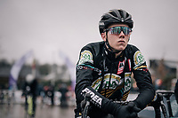 Thibau Nys (BEL) on the start line<br /> <br /> Junior Men's Race<br /> Belgian National CX Championschips<br /> Kruibeke 2019